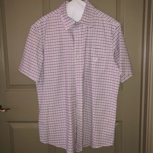 Chaps Short Sleeve Button Up